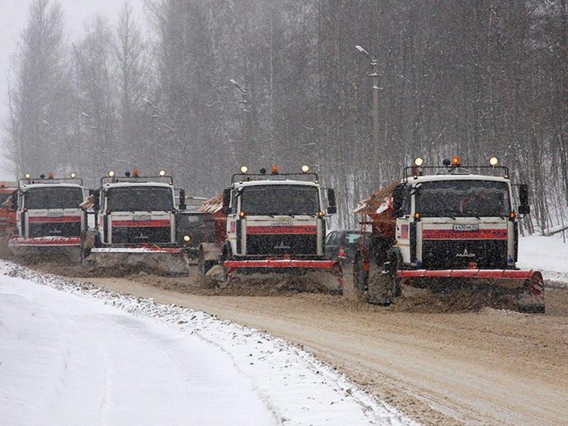 35 тысяч кубометров снега убрали сулиц Брянска