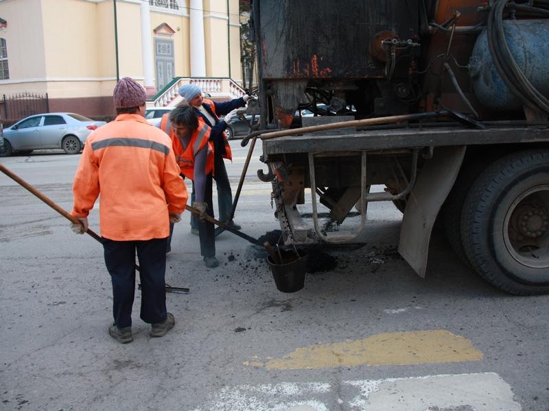 Асфальт наулице Горького несоответствует нормам