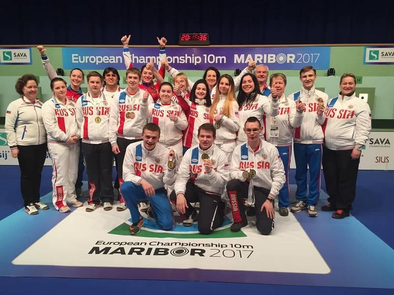 Ольга Веретельникова завоевала 2-ое место напервенстве Европы пострельбе